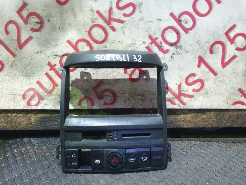 Консоль магнитофона Kia Sorento BL D4CB 2005