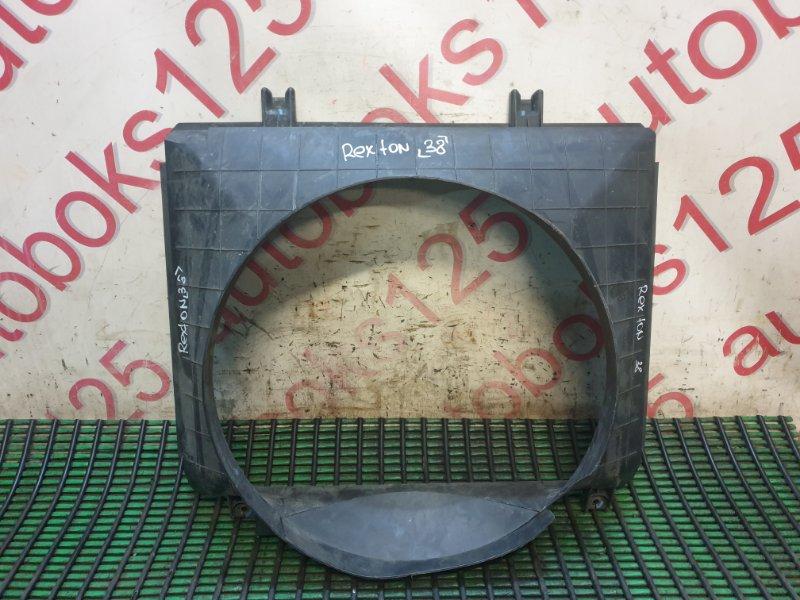 Диффузор радиатора двс Ssangyong Rexton RJN D27DT 2007