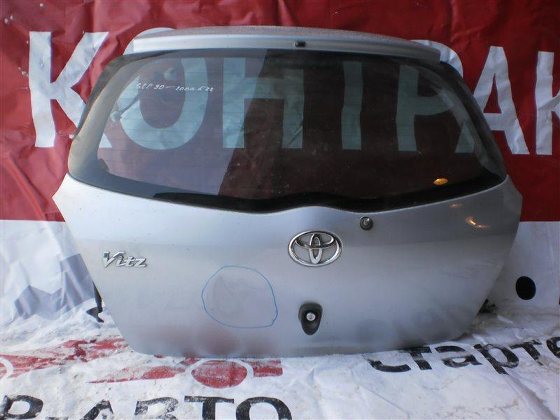 Дверь 5-ая Toyota Vitz 90