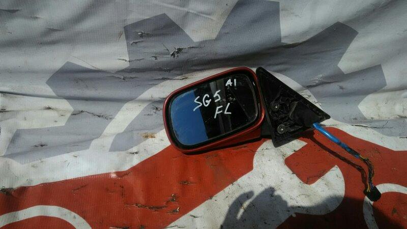 Зеркало Subaru Forester SG5 EJ205T 2002 левое