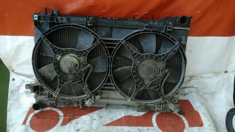 Диффузор радиатора Subaru Forester SG5 EJ205T 2002