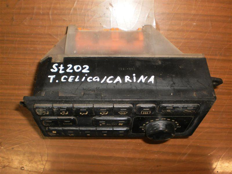 Блок управления климат-контролем Toyota Carina Ed ST200