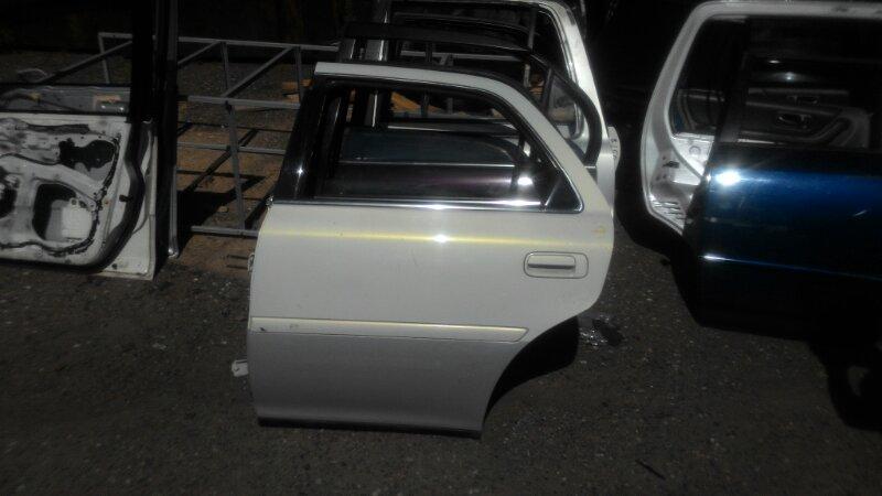 Дверь Toyota Cresta JZX100 1JZGE задняя левая