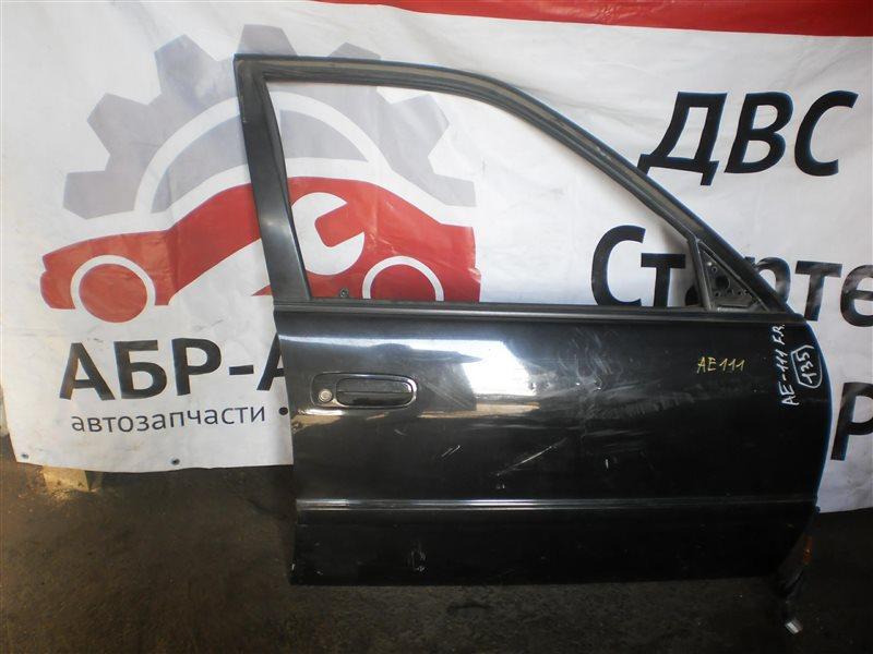 Дверь Toyota Sprinter Carib AE111 передняя правая