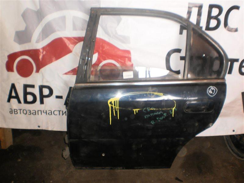 Дверь Honda Rafaga CE4 задняя левая