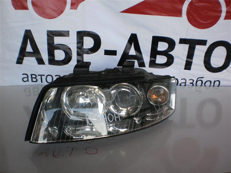 Фара Audi A4 левая