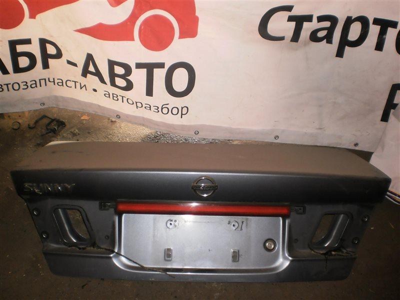 Крышка багажника Nissan Sunny B15
