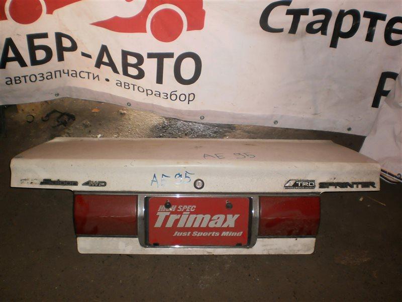 Крышка багажника Toyota Sprinter 95