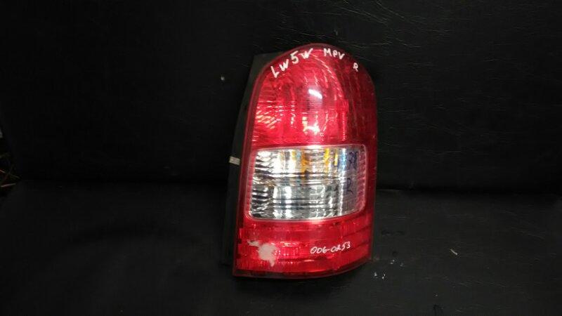 Стоп-сигнал Mazda Mpv LW5W задний правый
