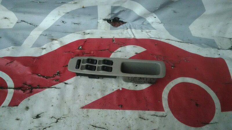 Блок управления стеклоподъемниками Mazda Demio DW3W B3 99 передний правый