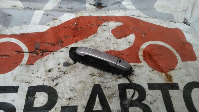 Ручка двери внешняя Nissan March AK12 CR12DE передняя левая