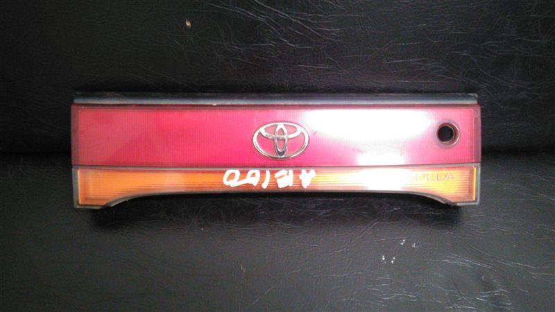 Стоп-вставка Toyota Corolla AE100 5AFE задняя