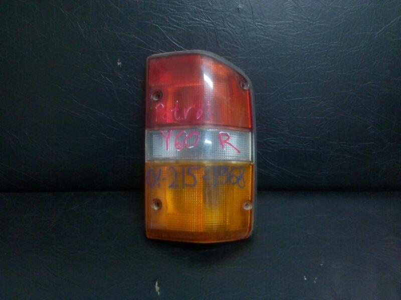 Стоп-сигнал Nissan Patrol Y60 задний правый