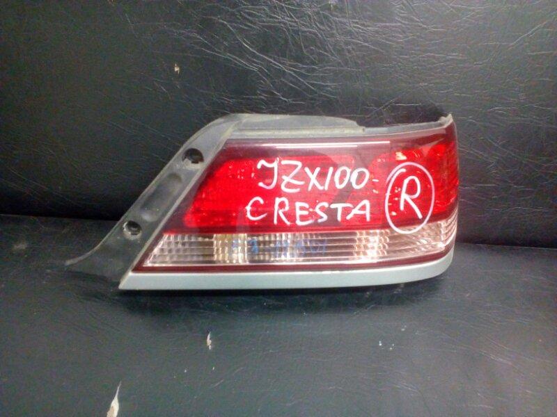 Стоп-сигнал Toyota Cresta GX100 1G BEAMS задний правый