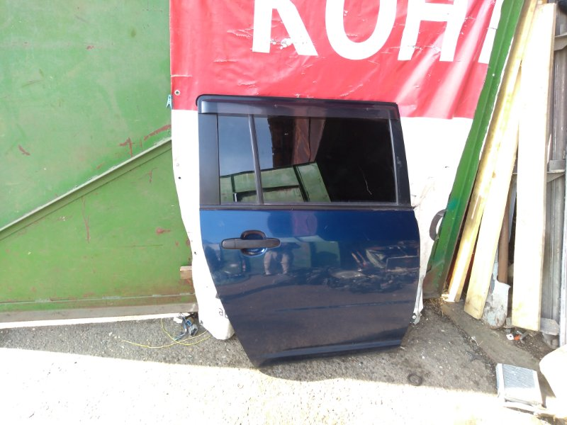 Дверь Toyota Succeed NCP51 1NZFE 2011 задняя правая