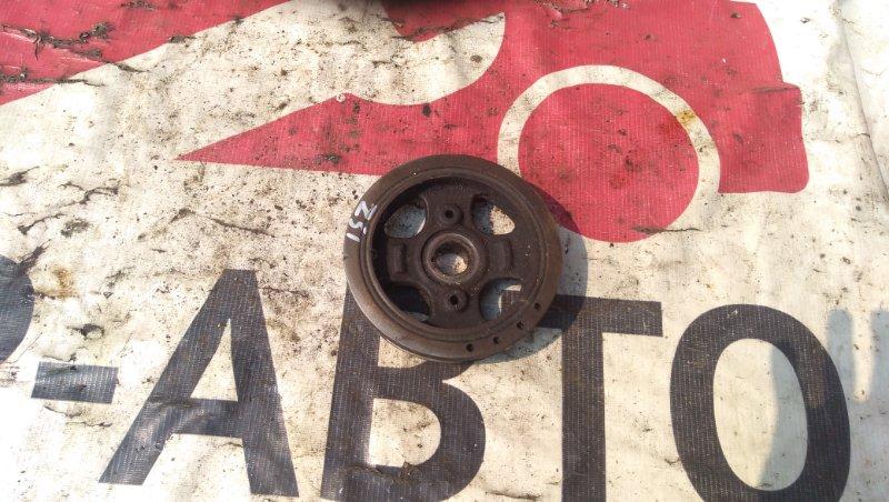 Шкив коленчатого вала Toyota Vitz SCP10 1SZFE