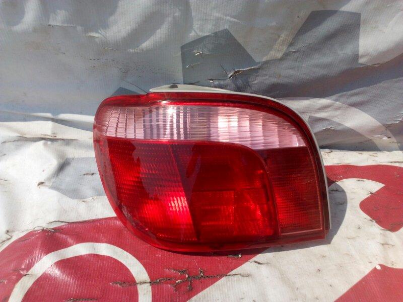 Стоп-сигнал Toyota Vitz SCP10 1SZFE 99 задний левый