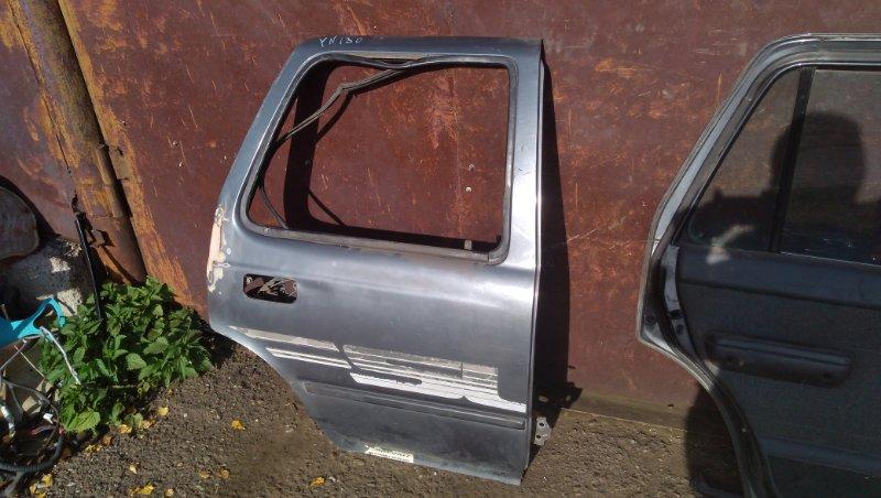 Дверь Toyota Hilux Surf YN130 3Y задняя правая