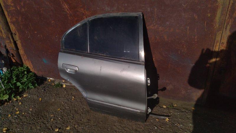Дверь Mitsubishi Galant EA1A задняя правая