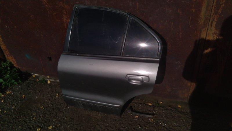 Дверь Mitsubishi Galant EA1A задняя левая