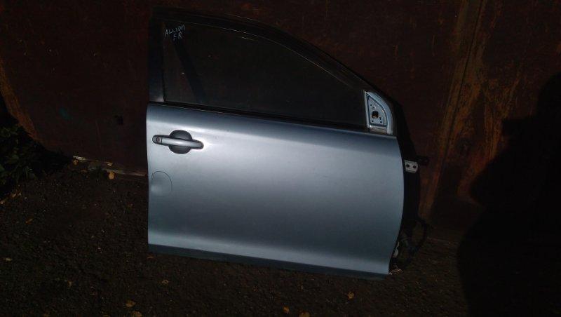 Дверь Toyota Allion ZZT240 1ZZFE 2003 передняя правая