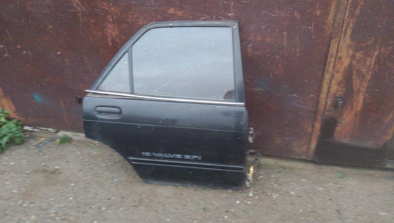 Дверь Toyota Carina AT170 задняя правая