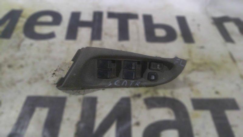 Блок управления стеклоподъемниками Nissan Sentra 2002 передний левый