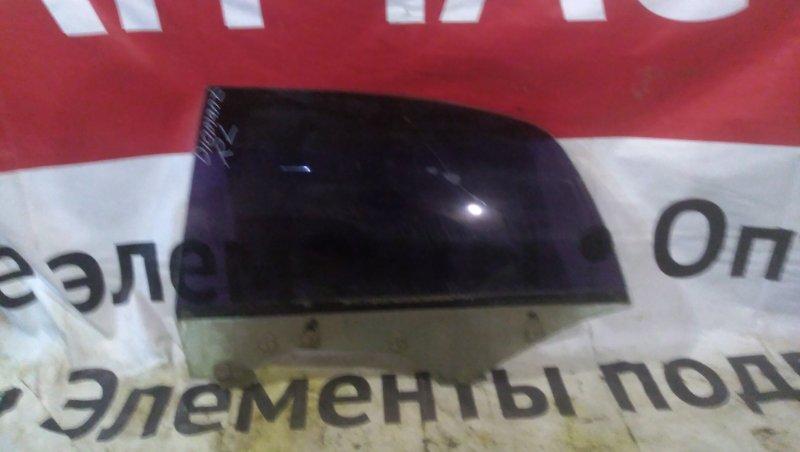 Стекло Mitsubishi Diamante F36A 6G72 заднее левое