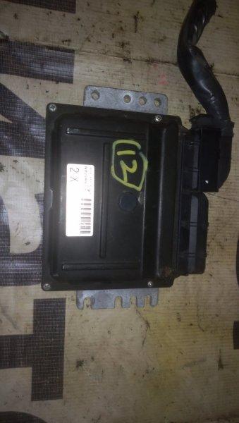 Блок управления двигателем Nissan March AK12 CR12DE