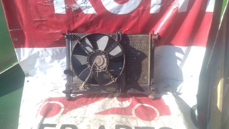 Диффузор радиатора Zaz Chance A15SMS 2010