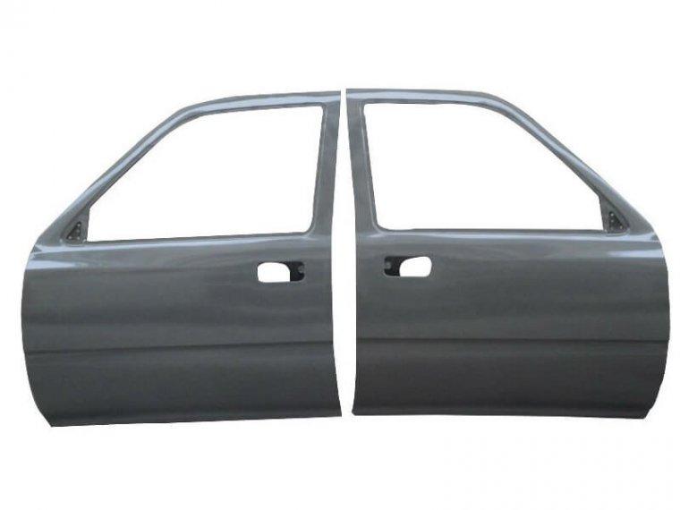 Дверь Mitsubishi Galant EA1A передняя левая