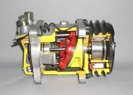 Компрессор кондиционера Mitsubishi Galant EA1A 4G93