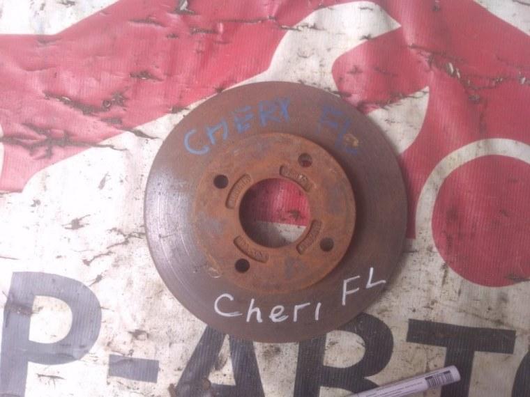 Диск тормозной Chery Fora 2006 передний левый
