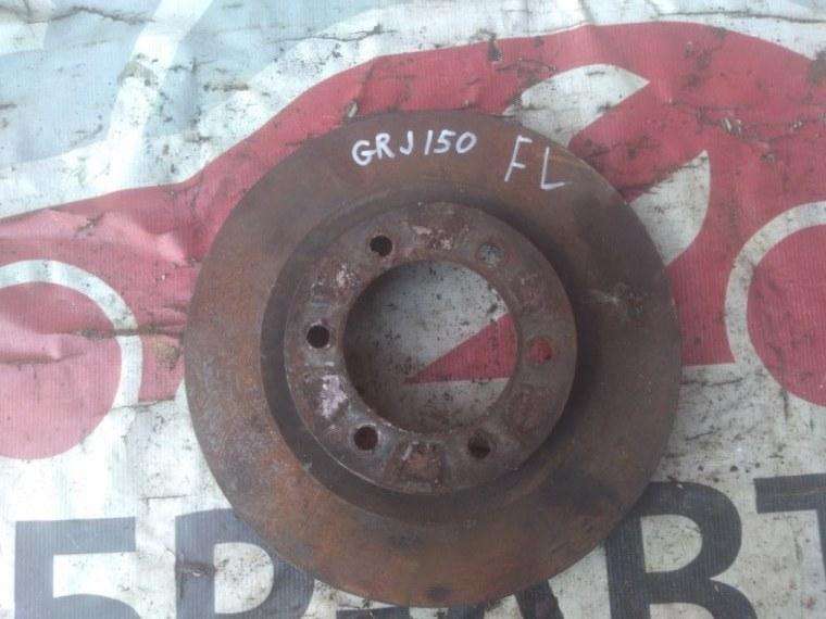 Диск тормозной Toyota Land Cruiser Prado GRJ150 передний левый