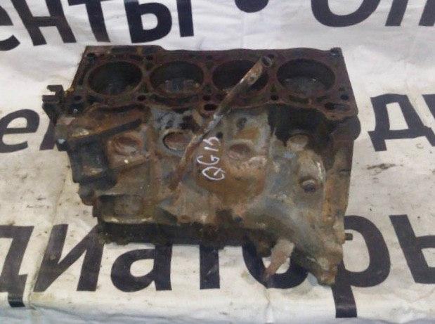 Блок цилиндров Nissan Sunny FB15 QG15DE