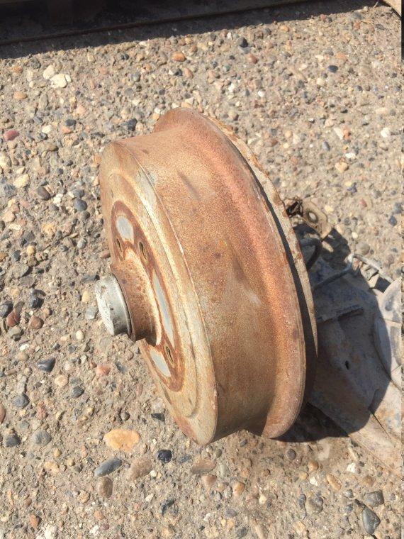 Ступица в сборе с диском Chevrolet Lanos задняя