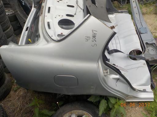 Крыло Chevrolet Lanos T100 2004 заднее