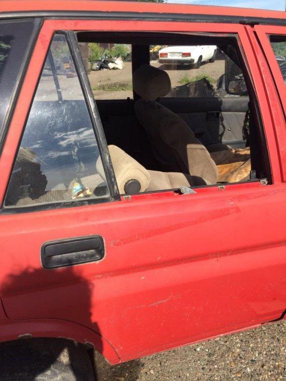 Дверь задняя Toyota Corolla 2 EL30 2E 1986 задняя правая