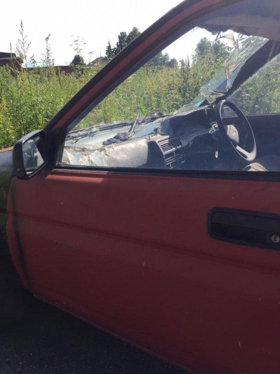 Дверь Toyota Corolla Ii EL30 2E 1986 передняя левая