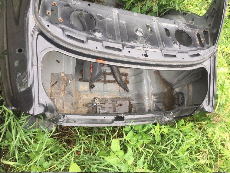 Задняя часть кузова Chevrolet Lanos T100 задняя