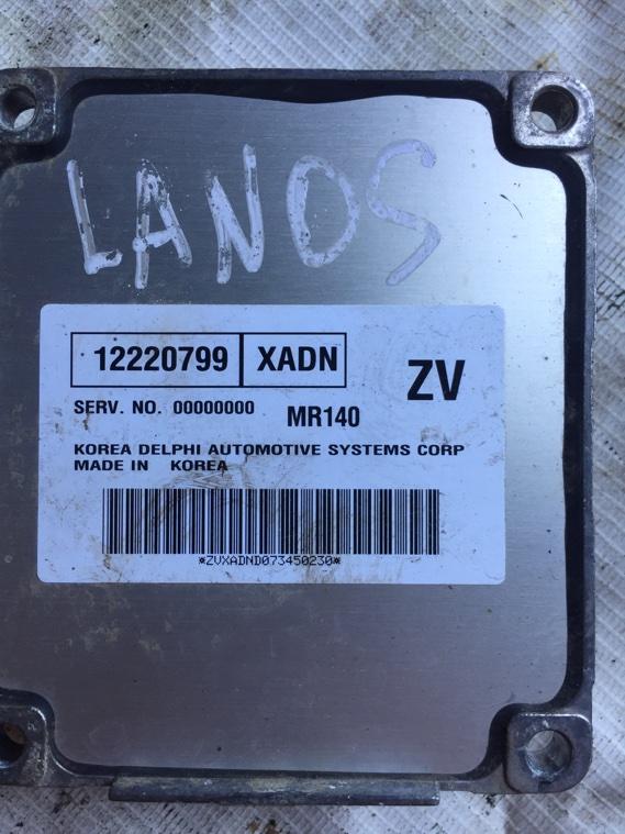 Блок управления двигателем Chevrolet Lanos