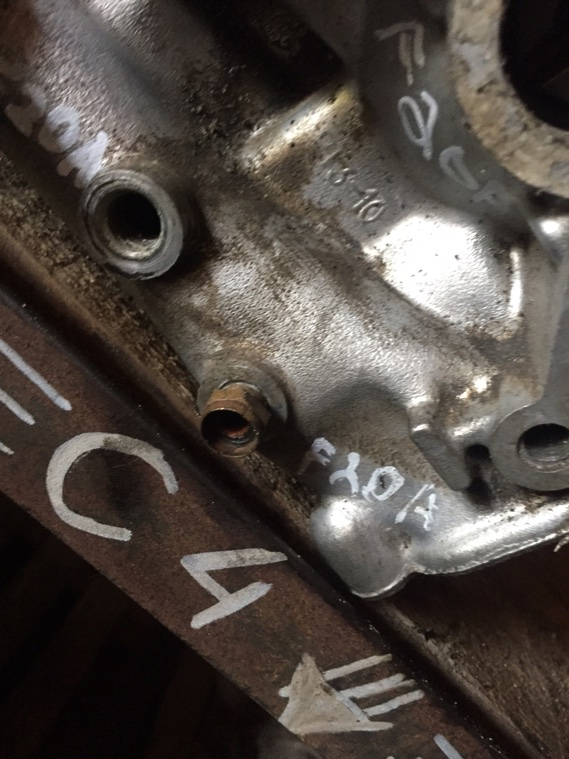 Головка блока цилиндров Honda F20A