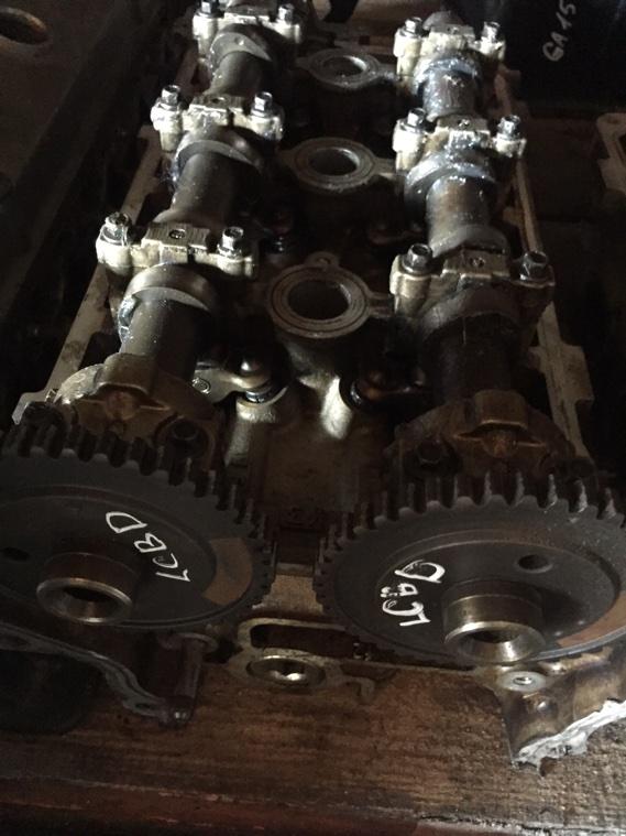 Головка блока цилиндров Ford Mondeo LCBD левая