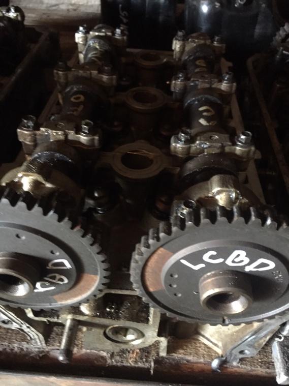 Головка блока цилиндров Ford Mondeo LCBD правая
