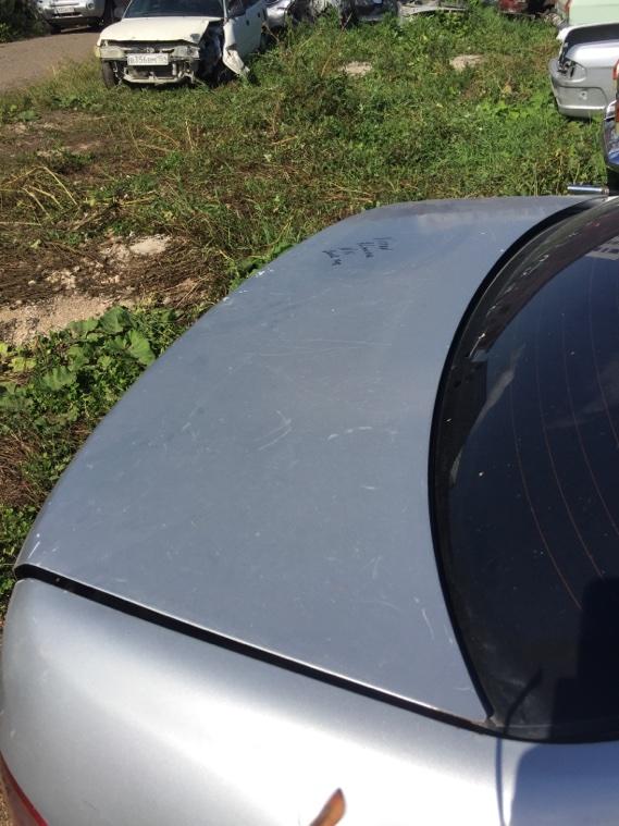 Крышка багажника Nissan Almera N16 QG15DE 2002 задняя