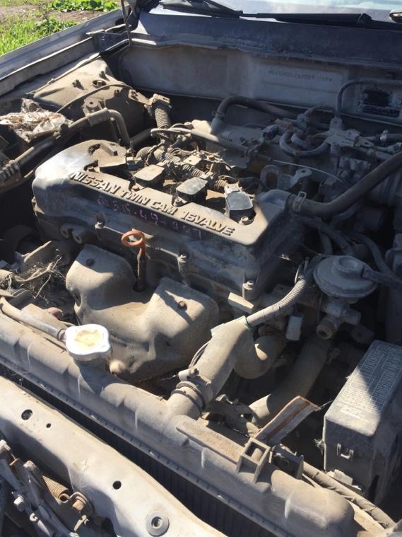 Двигатель Nissan Almera N16 QG15DE 2002