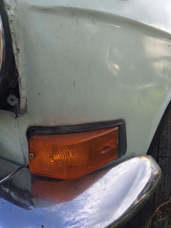 Крыло переднее Газ 24 24 24Д 1971 переднее левое