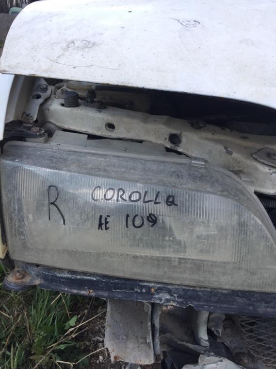 Фара Toyota Corolla AE109 4A-FE передняя правая