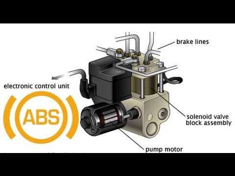 Блок управления abs Mazda Mpv
