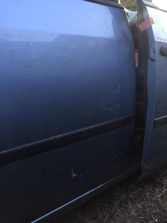 Дверь Ford Fiesta 2001 задняя правая